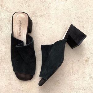 Jeffrey Campbell Slip-on Block Heeled Sandals